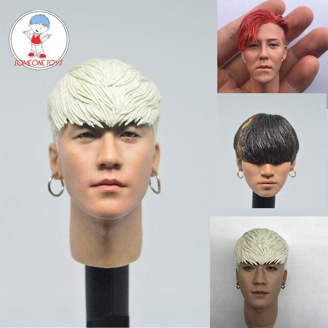 1/6 ScaleเกาหลีStarหัวSculpt Tae Yang Dongหนุ่ม Bae G Dragon Seungri Daesung BIGBANG 1/6 DIY action Figureอุปกรณ์เสริม