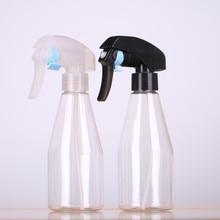 2 PCS 200Ml Alcohol Bottles Safe Mist Trigger PET Plastic Spray Bottle Clear