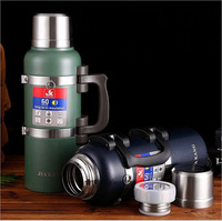 3L New Super Large Capacity 304 Stainless Steel Thermos Kettle Water Bottle Outdoor Car Travel Sports Thermos Pot Cup for Man