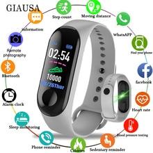 Bluetooth Electronic Smart Watch Women Men Unisex Heart Rate Monitor Fitness Tra