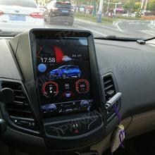 Android 9 4 + 64G PX6 Für Ford Fiesta 2008 2009 2010 2011 - 2016 Vertikale Tesla IPS Bildschirm auto Multimedia Player Steuergerät Radio