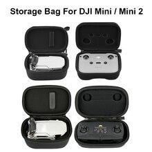 Bolsa de almacenamiento Estuche de transporte para Dron DJI Mavic Mini 2, mando a distancia, impermeable, Protector portátil, caja rígida, bolso