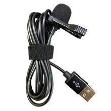 Micrófono de teléfono móvil con cable tipo Lavalier, interfaz Usb/interfaz tipo c, con cable