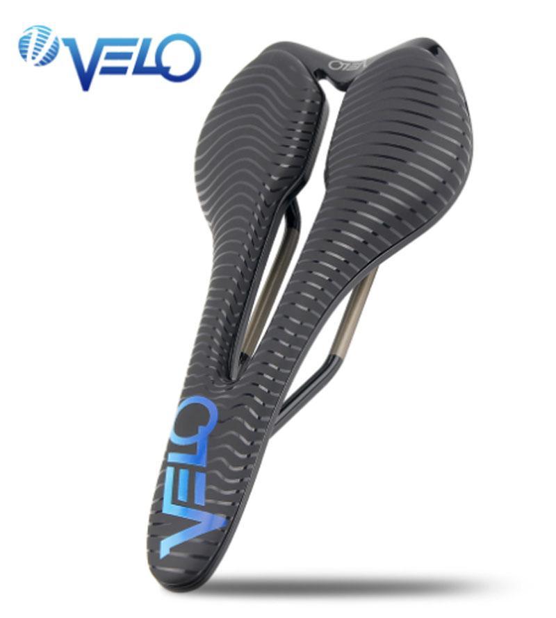 Bike Saddle Velo Angel Series Road Lightweight Ti-alloy Rear Seat Gel Bicycle Cycling Racing Men