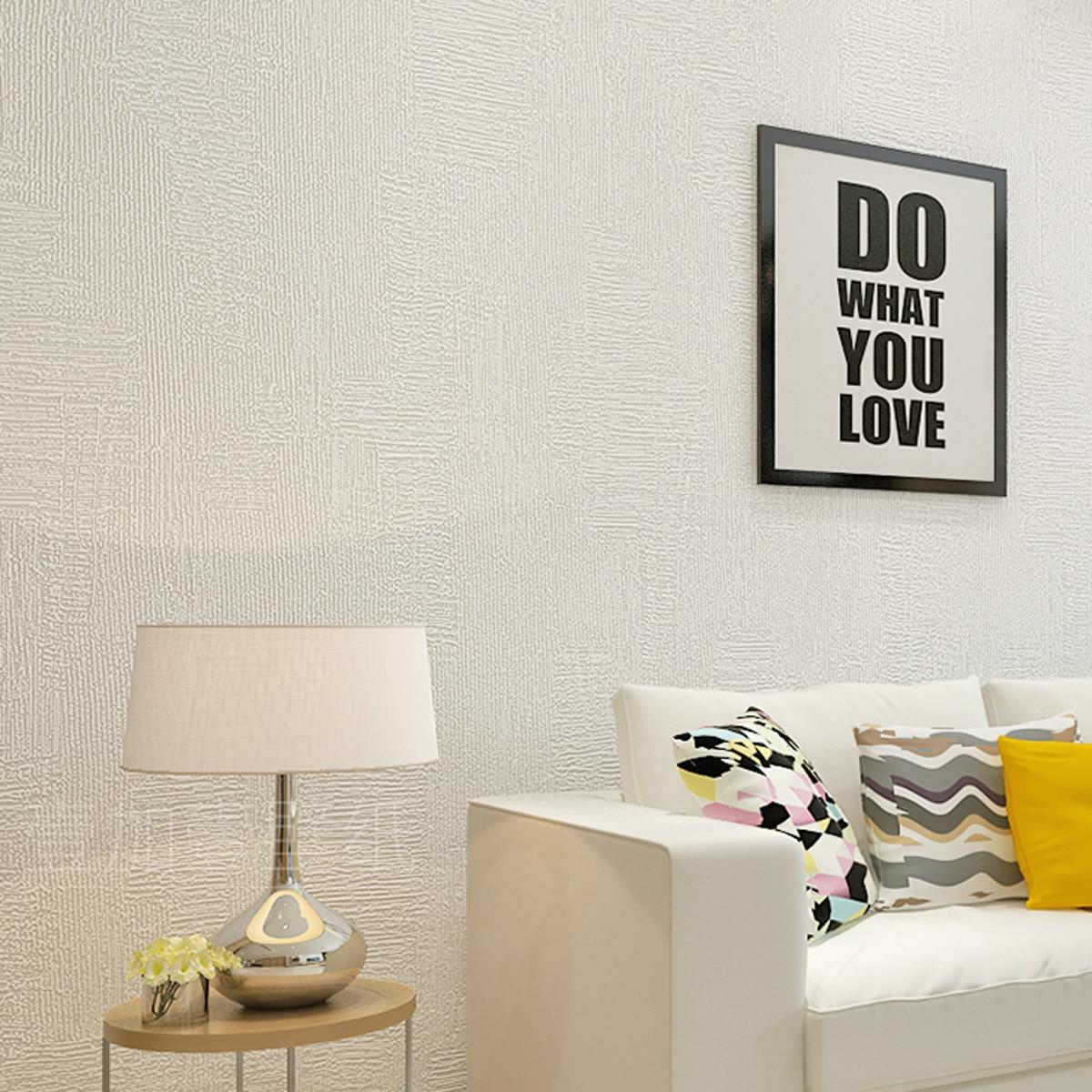Model Diatom Mud Plain Color 3D Non-woven Wallpaper Solid Color Minimalist Modern Living Room Bedroom TV Backdrop Wall Wallpaper