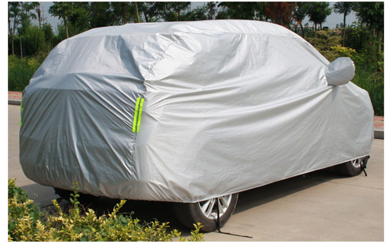 Full Car Cover Sedan SUV Covers Sun Reflective Shade Rain Frost Snow Dust Waterproof Protection Anti UV Outdoor Car Accessories (8)