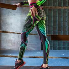 Damski nadruk kreskówkowy Legging Fitness Gym Running Legging kobiece sportowe oddychające legginsy tanie tanio hengsong Kostek STANDARD Suknem Wysoka Na co dzień Poliester Drukuj Wieku 16-28 lat women