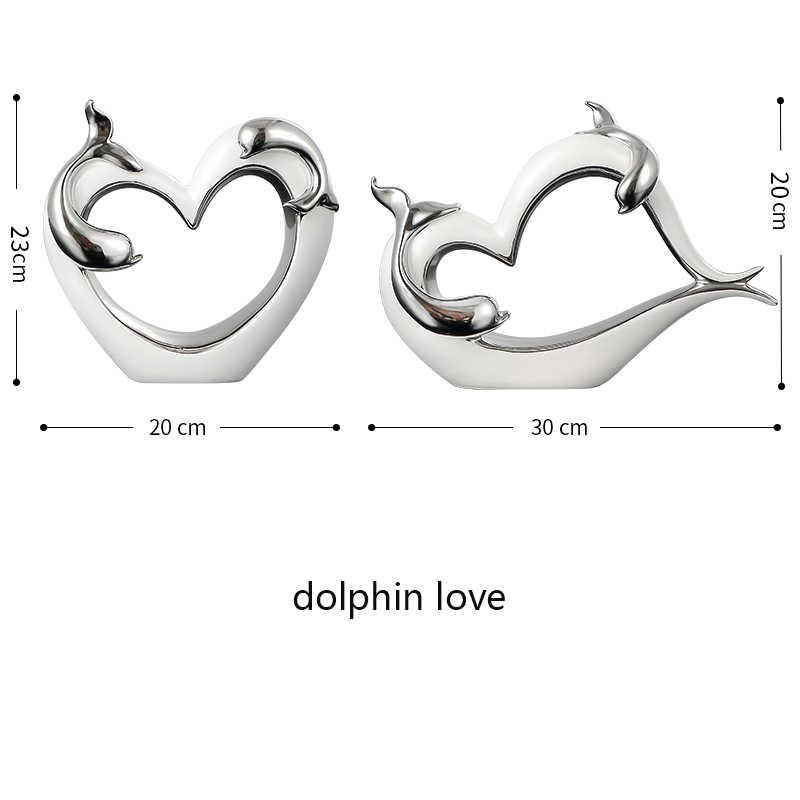 Украшения маленькие украшения дельфин любовник спальня Индивидуальность творческие ремесла домашние книжные полки винные шкафы