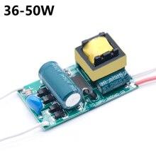 LED נהג 36 50W אספקת חשמל זרם קבוע DC120 160V אוטומטי מתח בקרת רובוטריקים תאורת LED אורות DIY