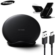 Originale QI Veloce Caricabatterie wireless per il Samsung Galaxy S8 S9 S10 Più G9500 G9300 G9350 S6 S7 Bordo Nota 8 nota 9 SM G965F EP 5100