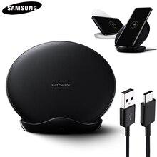 Orijinal QI hızlı kablosuz şarj için Samsung Galaxy S8 S9 S10 artı G9500 G9300 G9350 S6 S7 kenar not 8 not 9 SM G965F EP 5100