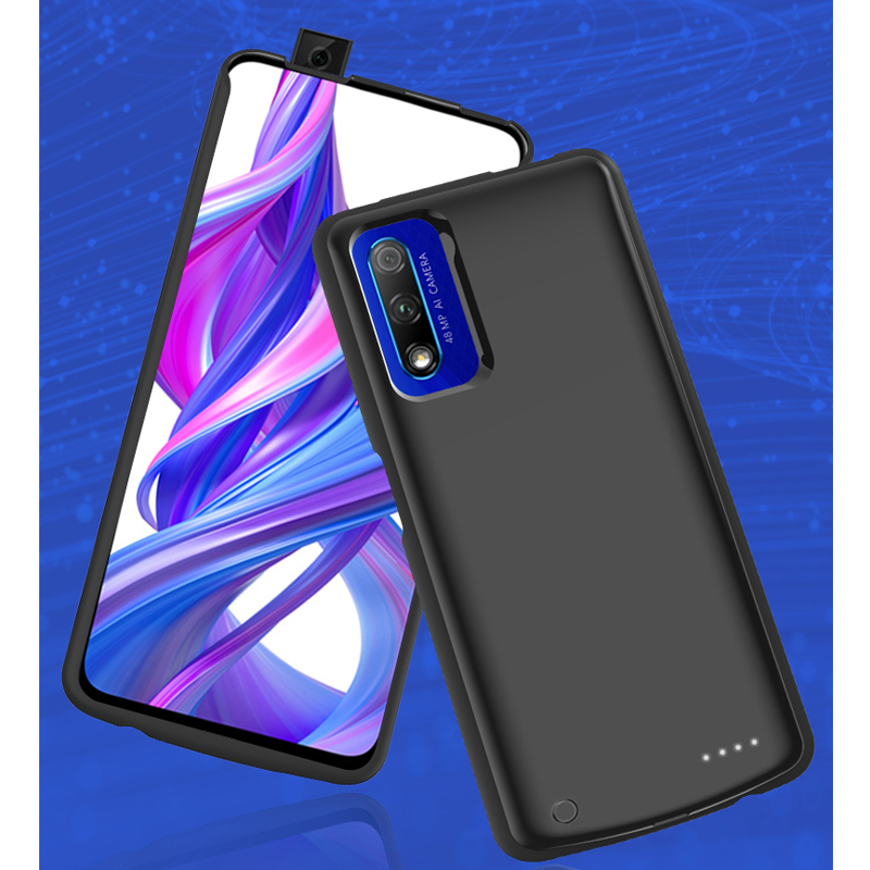 Power Bank Battery For Huawei Honor V30 Pro 6500mAh External Portable Shockproof Charging Case For Honor 9X pro Back Cover