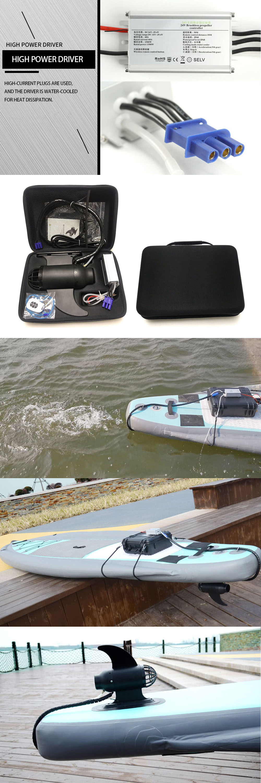 Fin 12V Elétrica (sem Bateria) E-Barbatanas de