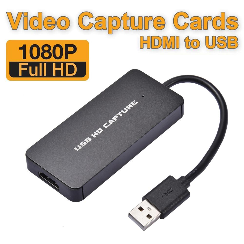 USB <font><b>Video</b></font> <font><b>Capture</b></font> <font><b>Card</b></font> <font><b>Hdmi</b></font> Hd Fast Game <font><b>Capture</b></font> Adapter Live Streaming Device For PS4 For Nintendo For Switch Live Broadcast image