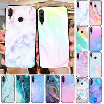 Babette Fashion Marble Phone Case For Redmi note 8Pro 8T 6Pro 6A 9 Redmi 8 7 7A note 5 5A note 7 case image