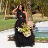 VAZN New 2021 Single Tulle Lace Women Elegant Fashion Maxi Dress Slim Dress Club Birthday Shinny Dress 2
