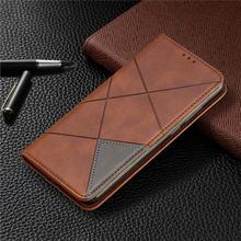Кожаный чехол бумажник с откидной крышкой для huawei p20 lite