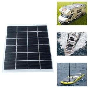 Image 1 - 2W 6V Mini güneş paneli pili güç modülü 350mah pil hücresi telefon şarj ışığı DIY güneş oyuncaklar