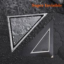 Треугольная напольная сливная плитка из нержавеющей стали для