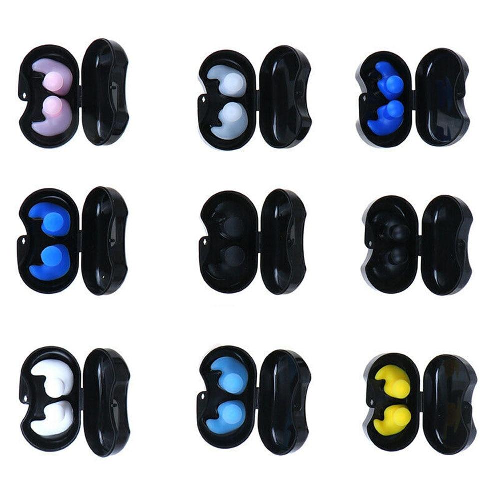 Мягкие силиконовые затычки для ушей многоразовые профессиональные музыкальные затычки для ушей Шумоподавление для сна-1