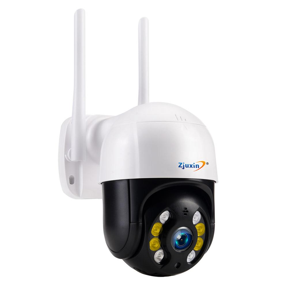 <font><b>Zjuxin</b></font> <font><b>IP</b></font> Camera <font><b>WiFi</b></font> 2MP <font><b>1080P</b></font> Wireless PTZ Speed Dome CCTV IR Onvif Camera Outdoor Security Surveillance ipCam Camara exterior image
