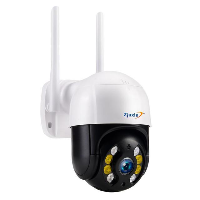 Zjuxin IP מצלמה WiFi 2MP 1080P אלחוטי PTZ מהירות כיפת CCTV IR Onvif מצלמה חיצוני אבטחת מעקב ipCam Camara חיצוני