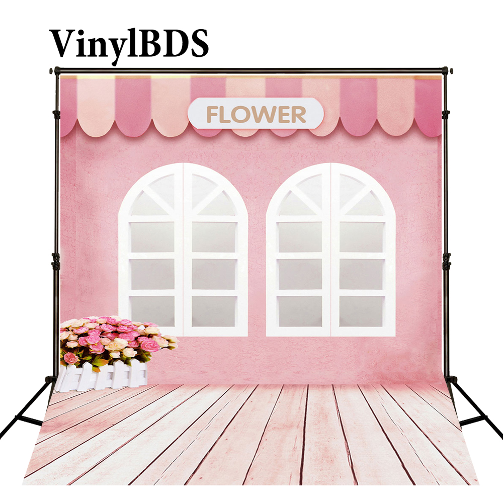 HD 5x7Ft Pink Floor Backdrop Pink Wood Backdrop Girls Room Background Sample Classic Props Video Studio Vinyl SHME028