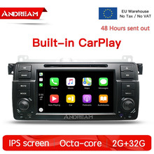 Octa-Core Android 8.1 2G +32G With Carplay IPS Screen Car Multimedia For BMW/E46/M3/MG/ZT GPS Navigation Head unit Radio FM android 7 1 car dvd player stereo radio ips screen gps navigation for bmw e46 m3 mg zt quad core 2g 16g bulit in carplay