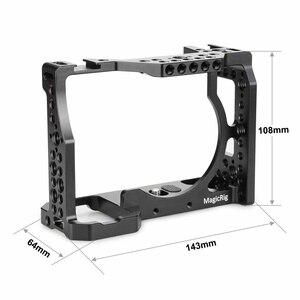 Image 3 - MAGICRIG jaula para cámara con zapata fría estándar y orificios de localización para cámara Sony A7RIII /A7III /A7M3 /A7SII /A7RII /A7II