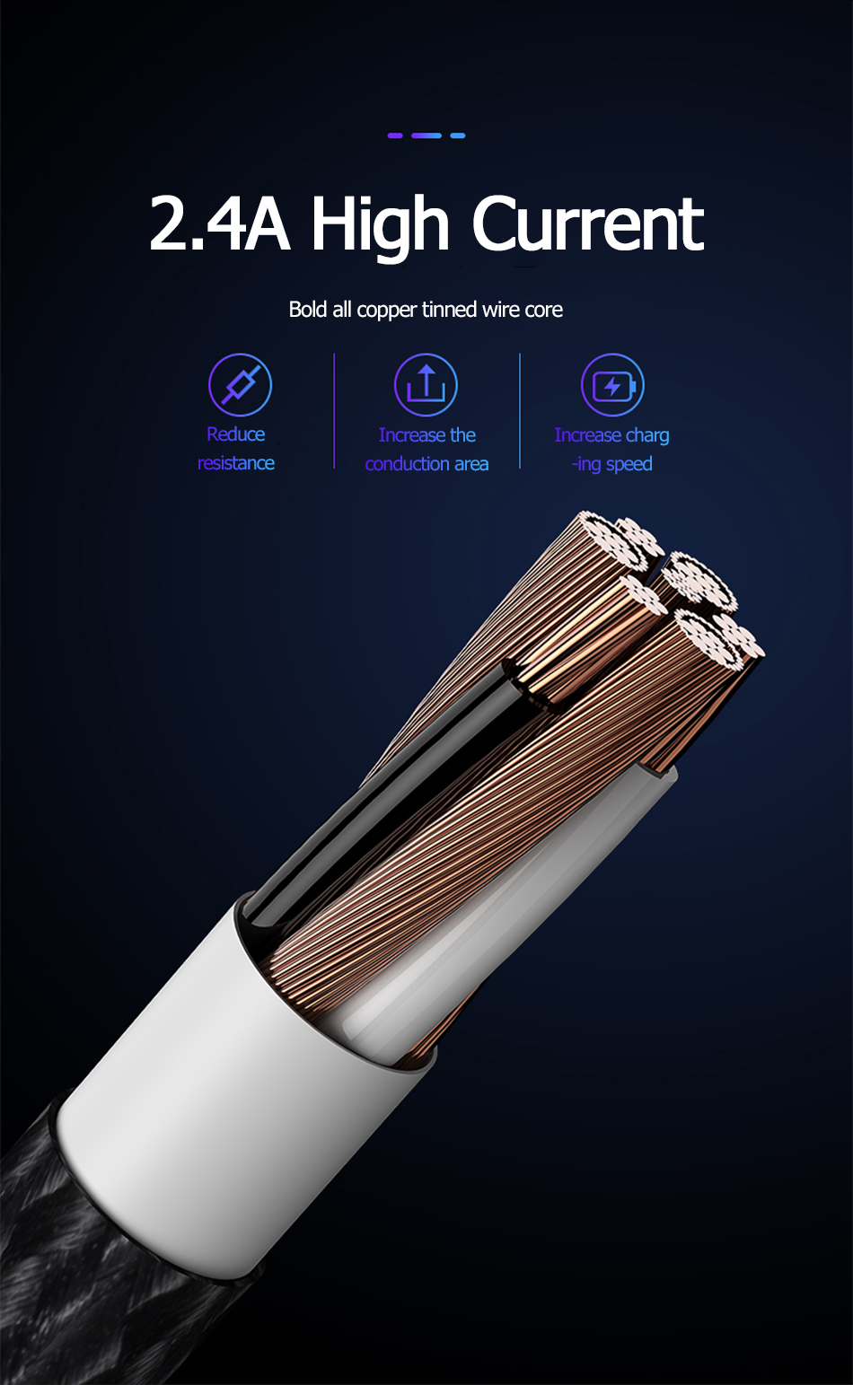 Benks M12 MFi 90 Degree USB Cable Lightning For iPhone X XS 11 MAX XR 8 7 6s Plus 5S SE 2.4A Fast Charging Cable For ipad Charge (5)