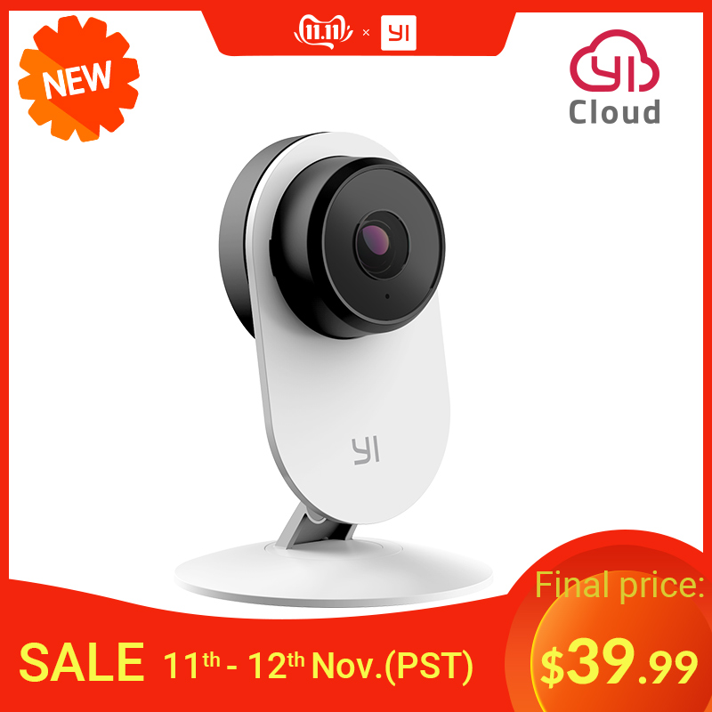 YI Smart Home Camera 3 AI Powered IP Security Surveillance System Indoor House Cam with Human Detection Two Way Audio Monitor-in Surveillance Cameras from Security & Protection
