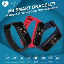 M4 Smart Band Wristbands Fitness Tracker Health Heart Rate Blood Pressure Blueto