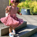 Популярные юбки-пачки для девочек; Однотонная пышная фатиновая бальная юбка принцессы; Детские Балетные вечерние юбки для выступлений; Дет...