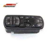 Interrupteur de levage de fenêtre électrique | Adapté à Mercedes Benz Actros MPII A9438200097  9438200097