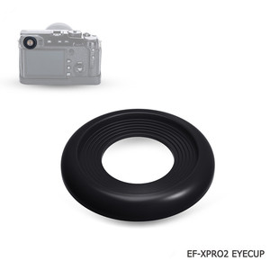 Image 3 - 2 pack kit Macchina Fotografica Oculare Mirino Oculare per Fujifilm X Pro2 X Pro 2 Cup Eye Molle Del Silicone Oculare di Gomma