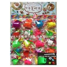 Стиль детский игровой домик для девочек набор столовой посуды для кухни палочки для еды чайный набор игрушка