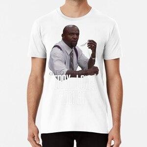 Brooklyn Nine-nine Terry T shirt yogurt terry brooklyn nine brooklyn 99 series