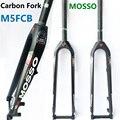 Carbon Vork Mosso M5FCB Fiets Vork 26 27.5 29er Road/MTB Fiets voorvork Voorvorken T700 verschillende te m3 M5 M6 2019