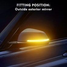 Luz LED intermitente para Retrovisor lateral de BMW, repetidor dinámico de señal de giro para modelos X1, E84, F20, F21, F22, F30, F32, F34 y F35