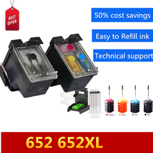 652XL Popular in Russia and Middle East For HP 652 Ink Cartridge For HP Deskjet Ink Advantage 1115 1118 2135 2136 2138 3635  hp deskjet ink advantage 1115 white