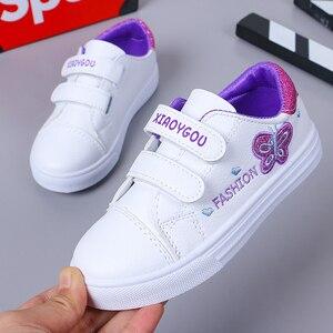 Image 5 - Bekamille ילדי ספורט נעלי סתיו תינוקות בנות תינוק רקמת פרפר נעלי ילדים מקרית נעלי ספורט סטודנט נעלי ריצה