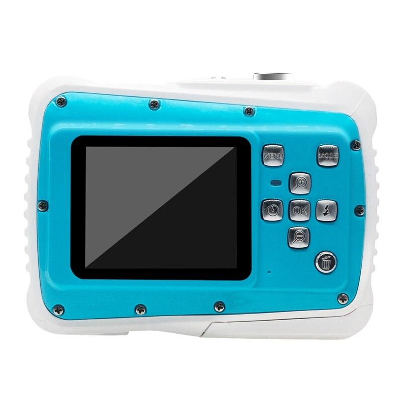 8 millions de pixels 1080P LCD Mini caméra numérique pour enfants 3 mètres caméra de sport étanche