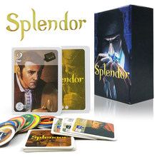 Splendor kurulu oyunu tam İngilizce sürüm ev partisi için yetişkin finansmanı aile oyun kart oyunu