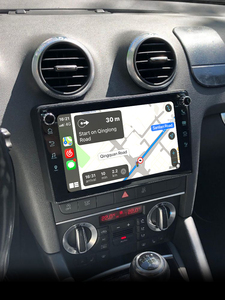 "Image 2 - 8 ""GPS Multimedia player Android 10 Auto Radio Stereo Rückansicht Kamera DVR Für Audi A3 2003 2012 S3 2006 2012 RS3 Sportback 2011"