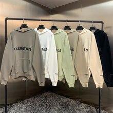 New Sweatshirt Sweatshirt 100% 1:1 Fog Essential Items Kanye West Jerry Lorenzo (Jerry Lorenzo) Loose Hoodie Hip-hop Cotton Swea