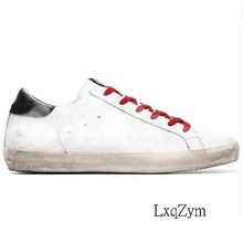 Women Sneakers Dirty-Shoes Design Lxqzym Spring Lace-Up Bling-Decor Star-Pattern Autumn