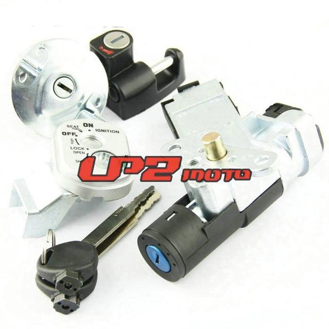 Jeu de clés de capuchon de gaz | Verrouillage de interrupteur dallumage pour Honda 35014-GEZ-Y21/35014-GEZ-611 Honda NPS50 Ruckus Zoomer 2003-2005/2006-2017