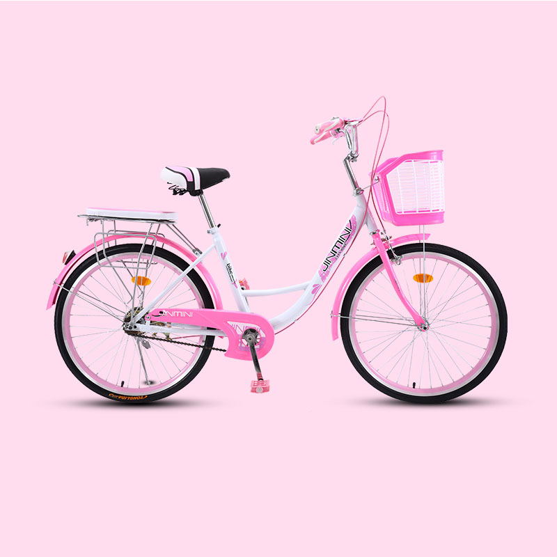 Bicycle  Women's Bike 20 Inch Commuter City Retro Ladies Students Grils Leisure Light Car 2019 New Safer