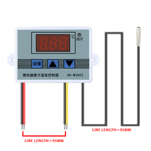 W3001 Digital Control Temperature Microcomputer Thermostat Switch Thermometer New Thermoregulator 12 24 220V cheap lefavor Temperature Controller CN(Origin) 49°C Under Industrial Charger Standing and Wall Hanging 1 9 Inches Under