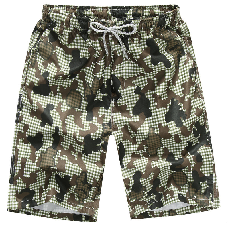 Men's Shorts Waterproof And Fast Drying In Summer  Men's Bermuda Men's Shorts Informal Polyester Men's Shorts